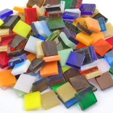 Tiffany glass 10x10mm
