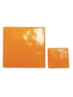 Glassteine Mosaik Joy orange 10x10