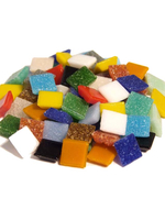 Glass stones mosaic Joy harlequin mix 20x20