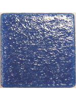 Glass stones mosaic Murano steel blue