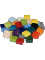 Glass stones mosaic fantasy glass colorful mix 10x10x4