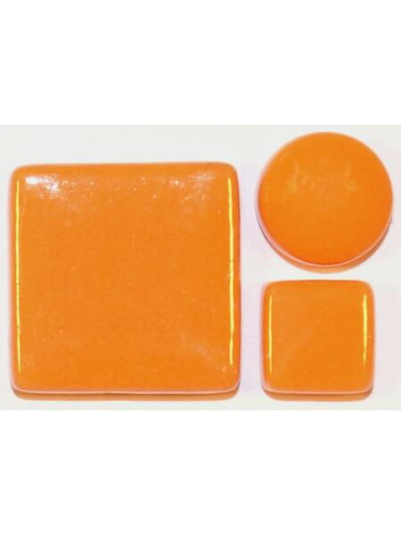 Glassteine Mosaik Fantasy Glas orange D=12
