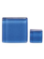 Glassteine Mosaik Soft blau 10x10mm