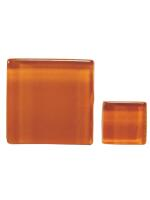 Glassteine Mosaik Soft braun 10x10mm