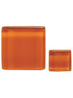 Glassteine Mosaik Soft orange 10x10mm