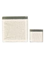 Glassteine Mosaik Soft transparent 10x10mm