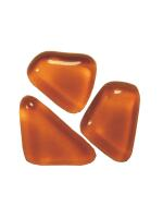 Glassteine Mosaik Soft orange polygonal