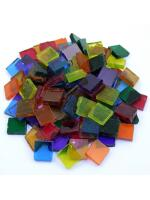 Glas Mosaik Tiffany transparent-mix 15x15 200g