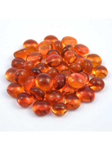 Glasnuggets Mosaik Nugget orange 10-12mm
