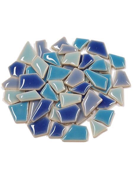 SCHMETTERLING Mosaiksteine Farbe:silber-blau-rot Grösse:14x8cm-2.WAHL !!