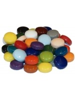 Glass stones mosaic fantasy glass colorful mix D=12