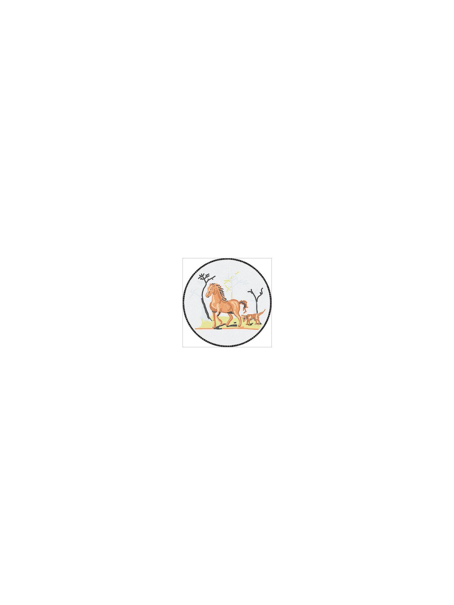 Mosaik Vorlagen Vorlage Pferd I Gunstig Kaufen Mosaik Shop 8 90