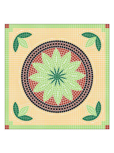 Mosaik-Vorlagen Vorlage Helmos-80 80x80cm günstig kaufen   Mosaik ...