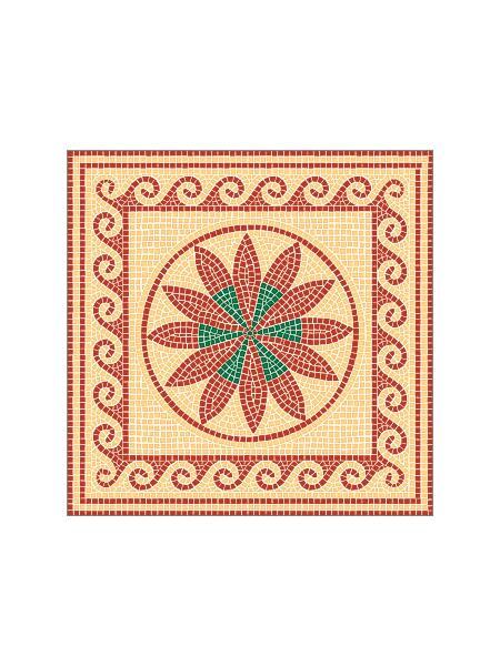 Mosaik Vorlagen Vorlage Messina 60 60x60cm