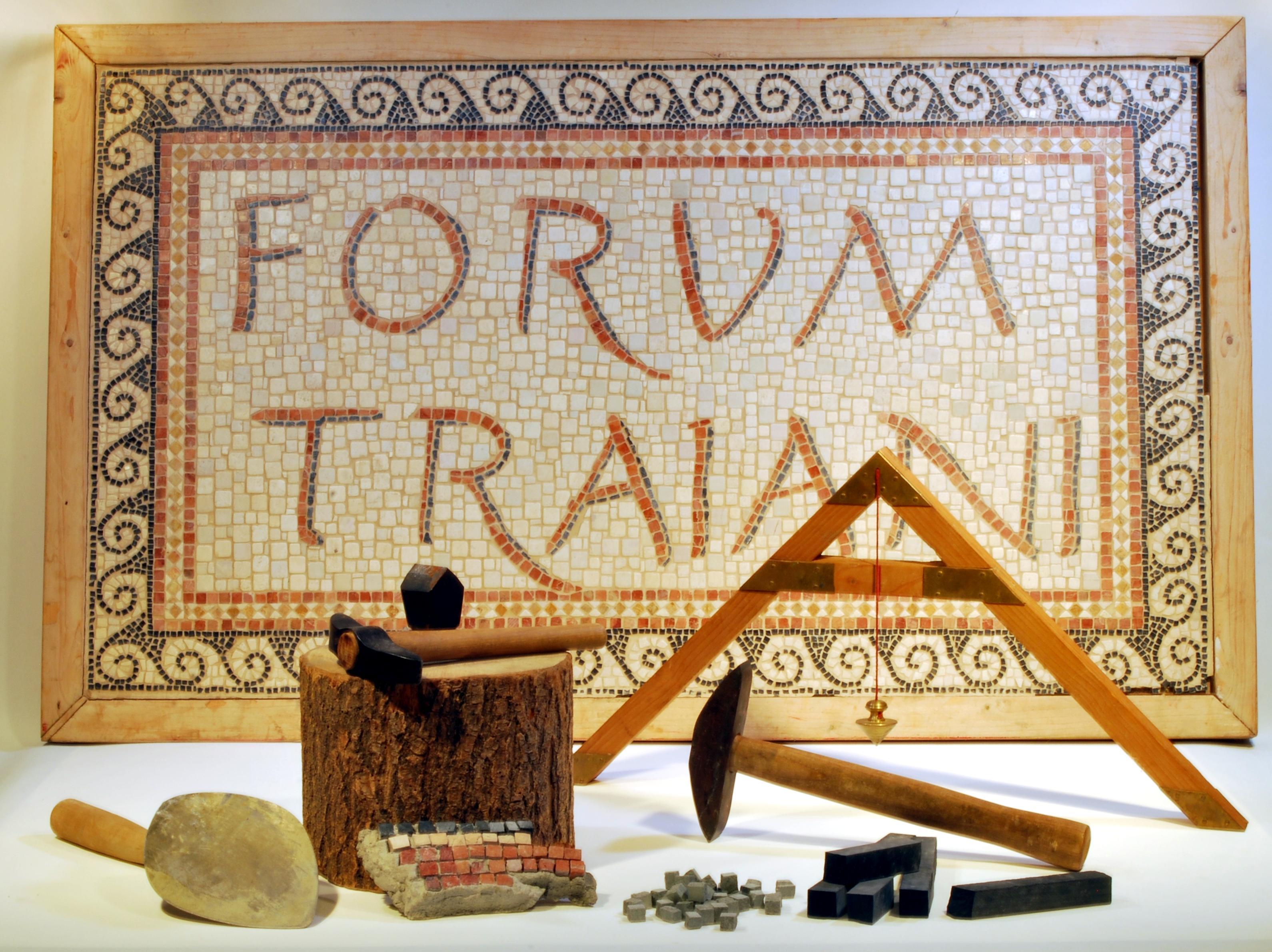 Antikes Mosaikwerkzeug